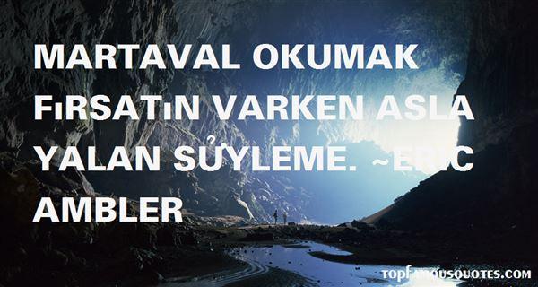 Quotes About Okumak