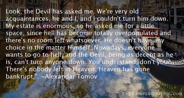 Quotes About Old Acquaintances