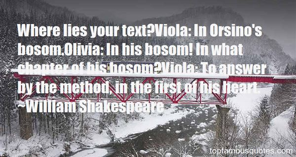 Quotes About Orsino Olivia