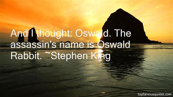 Quotes About Oswald