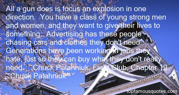 Quotes About Palahniuk