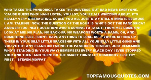 Quotes About Pandorica
