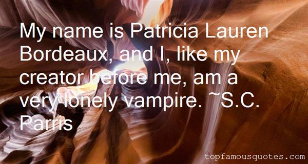 Quotes About Patricia