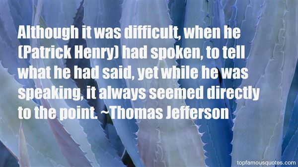Quotes About Patrick Henry