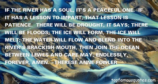 Quotes About Peaceful Water