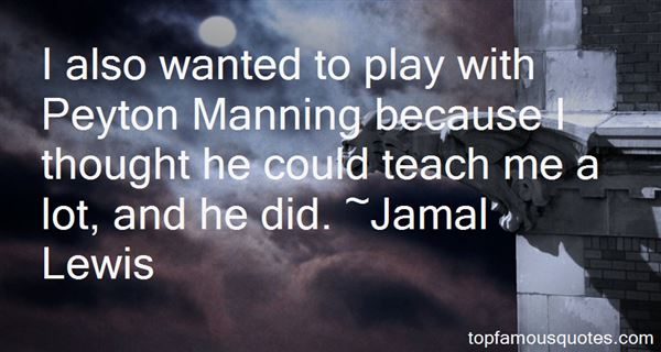 Quotes About Peyton Manning