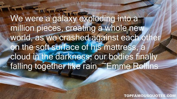 Quotes About Pieces Falling Together