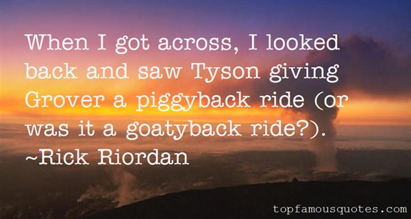 Quotes About Piggyback