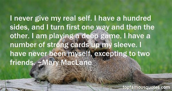 Quotes About Playing Cards
