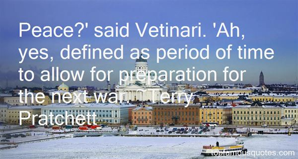 Quotes About Preparation For War