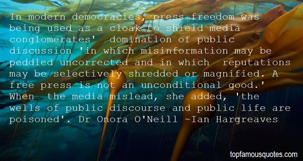 Quotes About Press Freedom