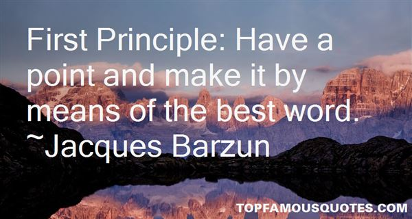 Quotes About Principle