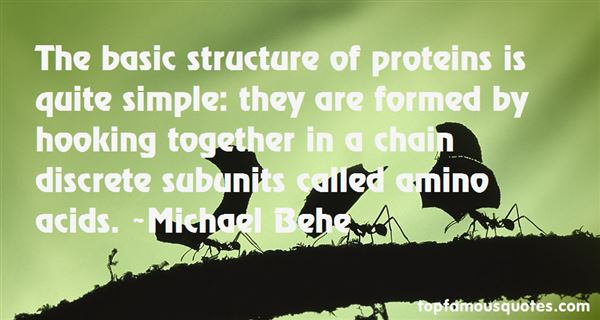 Quotes About Proteins