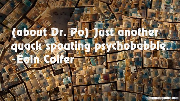 Quotes About Psychobabble