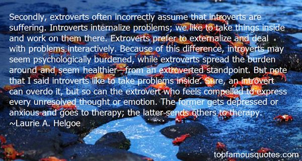 Quotes About Psychological Problems