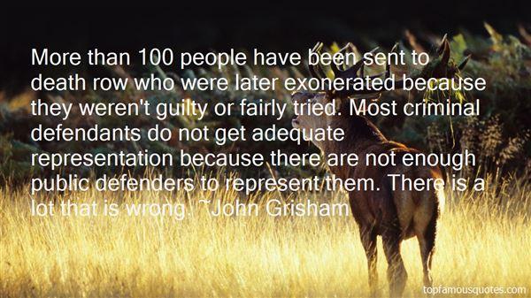 Quotes About Public Defenders