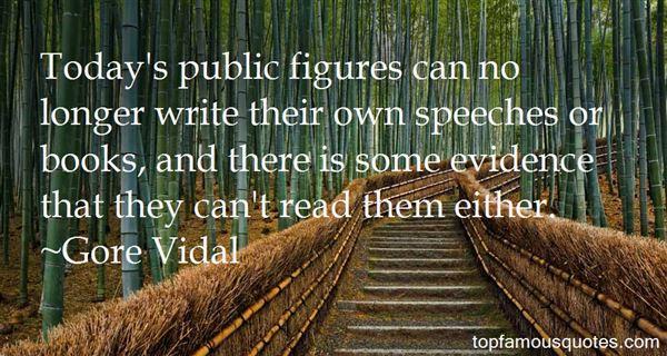 Quotes About Public Figures