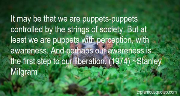 Quotes About Puppets On Strings
