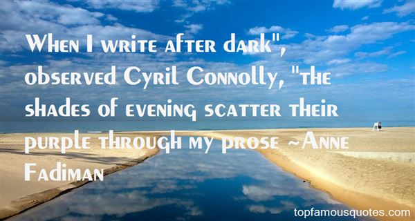 Quotes About Purple Prose