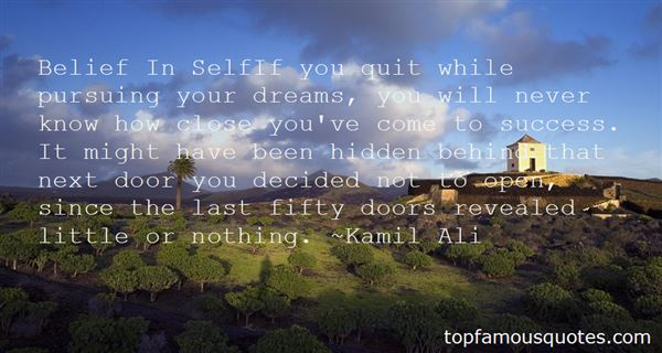 Quotes About Pursuing Dreams