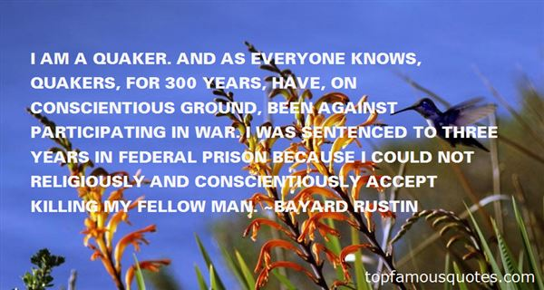 Quotes About Quaker War