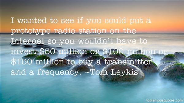 Quotes About Radio Frequency