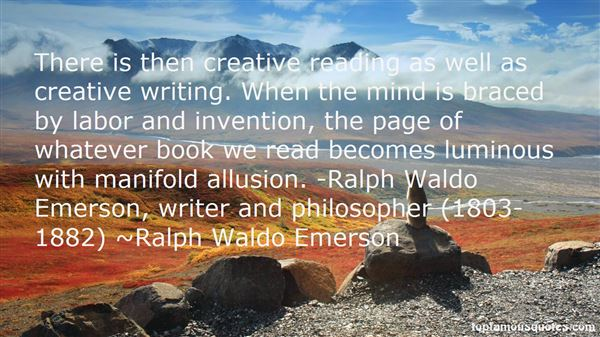 Quotes About Ralph Waldo Emerson