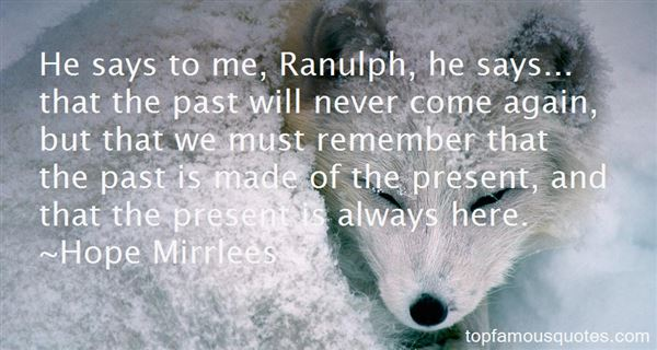 Quotes About Ranulph
