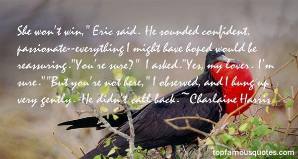 Quotes About Reassuring Love