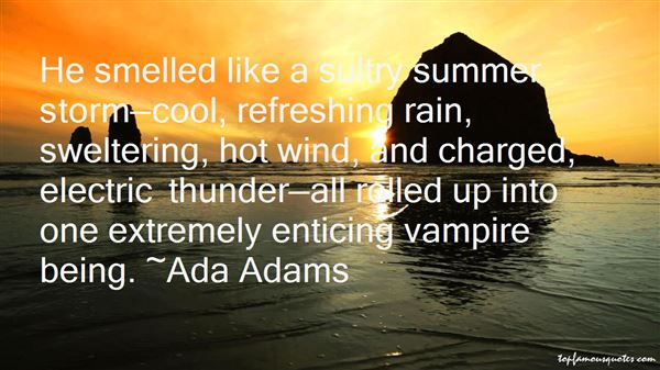 Quotes About Refreshing Rain
