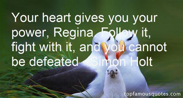 Quotes About Regina