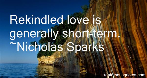 Quotes About Rekindled