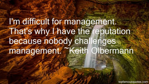Quotes About Reputation Management