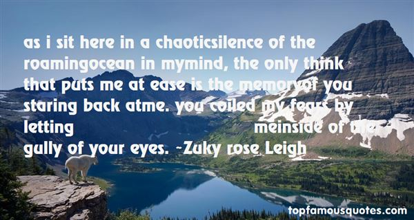 Quotes About Roaming Eyes