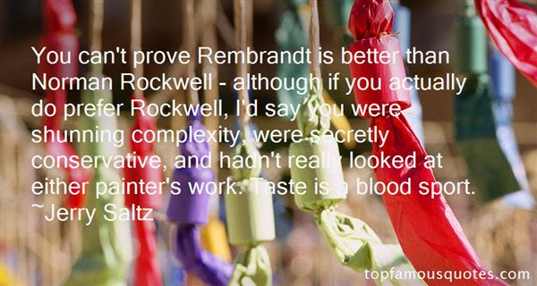 Quotes About Rockwell