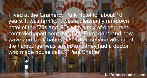 Quotes About Room Service