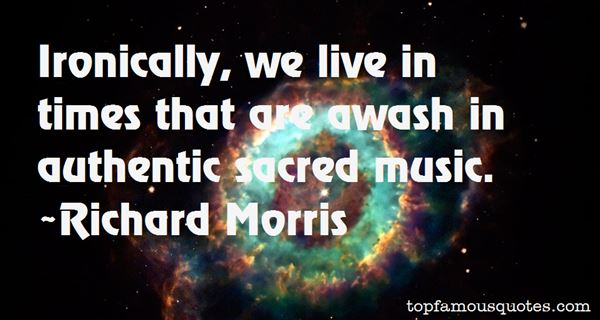 Quotes About Sacred Music