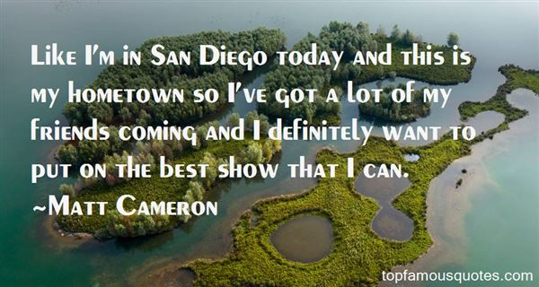 Quotes About San Diego