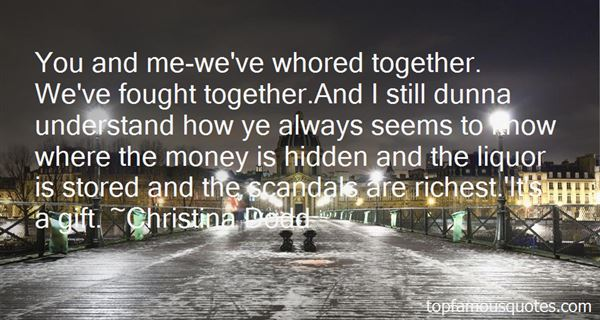 Quotes About Scandals
