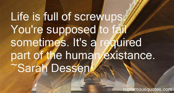 Quotes About Screw Ups
