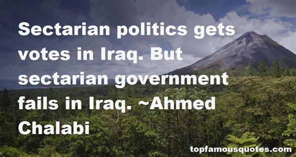 Quotes About Sectarian