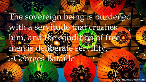 Quotes About Servitude