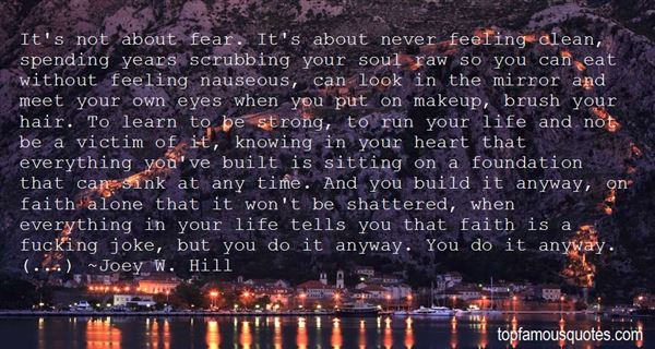 Quotes About Shattered Faith