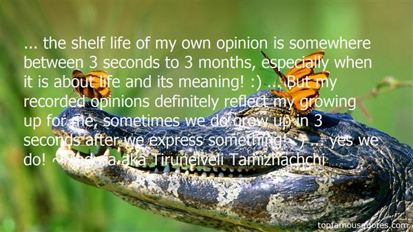 Quotes About Shelf Life