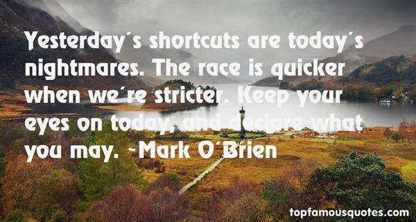 Quotes About Short Nightmares