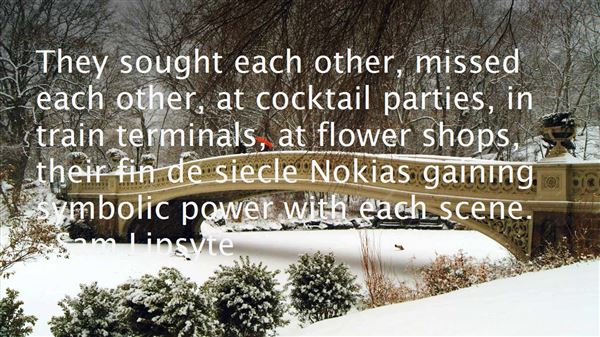 Quotes About Siecle