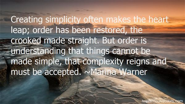 Quotes About Simplicity And Complexity
