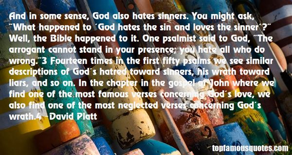 Quotes About Sinners In The Bible