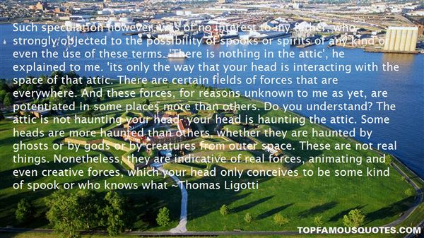 Quotes About Spirits And Ghosts