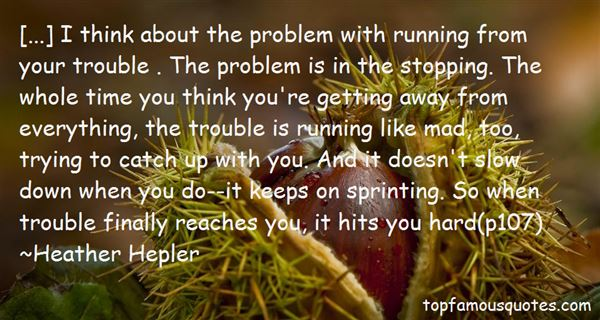 Quotes About Sprinting